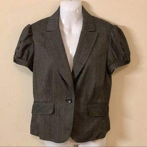 Apt 9 Grey one button Blazer